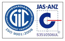 logo jas anz QMS 2 9001 2008